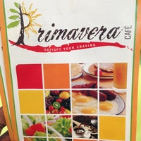 Photo taken at Primavera Cafe by Lamar T. on 7/28/2013