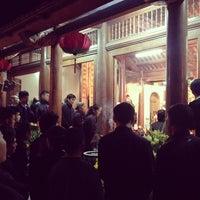 Photo taken at Khai Nguyên tự by Tuna N. on 1/29/2014