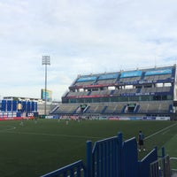 Photo taken at Leo Stadium by Nawin F. on 8/9/2017