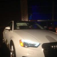 Photo taken at club audi by Braman Audi by Justin C. on 4/3/2014