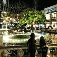 Photo taken at The Grove Water Fountain by Amer S. on 3/10/2013