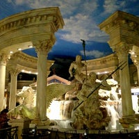 Photo taken at The Forum Shops at Caesars by Amer S. on 3/15/2013