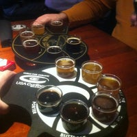 Photo taken at RAM Restaurant & Brewery by Alexander L. on 1/25/2013