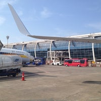 Photo taken at Goa International Airport / Dabolim Airport (GOI) by Dmitry M. on 12/28/2012