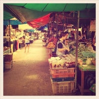 Photo taken at Autsawin market by Gig B. on 3/6/2013