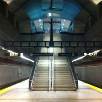 Photo taken at South San Francisco BART Station by Andras N. on 12/18/2012