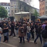 Das Foto wurde bei Critical Mass Berlin von Luc T. am 5/1/2014 aufgenommen