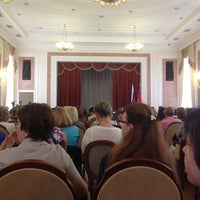 Photo taken at Администрация Выборгского района by Elena L. on 8/1/2013