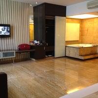 Photo taken at FM7 Resort Hotel Cengkareng by Agatha N. on 12/25/2012