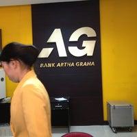 Photo taken at Bank Artha Graha by Agatha N. on 5/3/2013