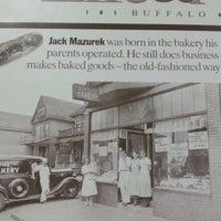 Photo taken at Mazurek's Bakery by Nancy S. on 1/5/2013