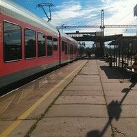 Photo taken at Tatabánya vasútállomás by Herczeg I. on 10/9/2012