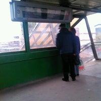 Photo taken at Tatabánya vasútállomás by Herczeg I. on 11/12/2012
