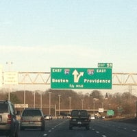 Photo taken at I-84 -- Hartford by Brett M. R. on 12/15/2012