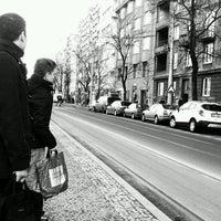 Photo taken at Ortenovo náměstí (tram) by wil h. on 3/1/2017
