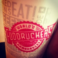 Photo taken at Fuddruckers by Parker H. on 5/10/2013