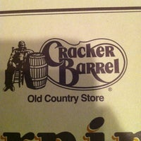 Photo taken at Cracker Barrel Old Country Store by Jennifer M. on 3/18/2013