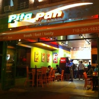 Photo taken at Pita Pan by lindai s. on 7/31/2013
