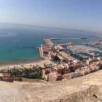 Photo taken at Alacant | Alicante by Dhanesh D. on 7/10/2013