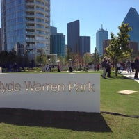 Photo taken at Klyde Warren Park by Matt M. on 10/28/2012