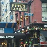 Photo taken at Pete's Tavern by Trevis D. on 12/17/2012