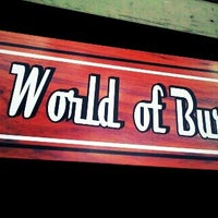 Photo taken at World of Burgers by Trevor R. on 8/2/2013