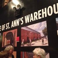 Photo taken at St. Ann's Warehouse by Debora P. on 4/8/2014