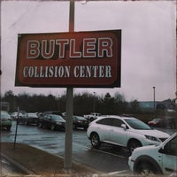 Photo taken at Butler Collision by Tom T. on 1/15/2015