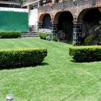 Photo taken at Jardin Sotuta by Jesus G. on 6/1/2014