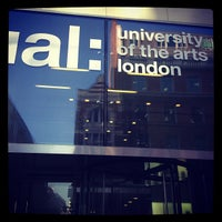 Photo taken at University of the Arts London (UAL) by Stefano S. on 3/17/2013