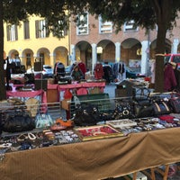 Photo taken at Piazza Puntoni by Stefano S. on 3/14/2017