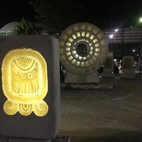 Photo taken at Parque del Centro Ceremonial Maya by Omar M. on 2/26/2017