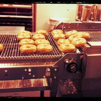 Photo taken at Krispy Kreme Doughnuts by Brandon R. on 3/9/2013