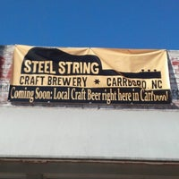 Photo taken at Steel String Brewery by Brandon R. on 1/19/2013