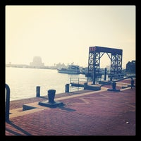 Photo taken at Canton Waterfront Park by Christopher D. on 12/1/2012