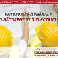 Photo prise au Total Concept SA – Entreprise général de bâtiment Genève par leleti b. le2/22/2016