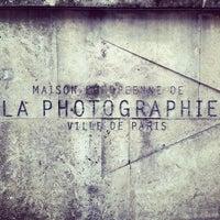 Photo taken at Maison Européenne de la Photographie by Selcuk C. on 3/22/2013