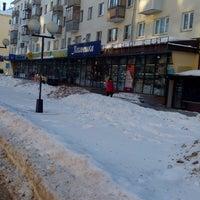 Photo taken at ул. Коминтерна by Yura G. on 2/18/2015