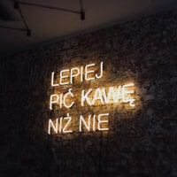 Photo taken at Wesoła Cafe by Paulina W. on 3/23/2014