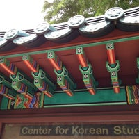 Photo taken at Center For Korean Studies by J Z. on 11/28/2012