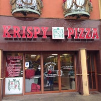 Photo taken at Krispy Pizza - Brooklyn by Paulie G. on 1/10/2014