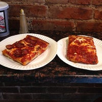 Photo taken at Prince Street Pizza by Paulie G. on 6/28/2013