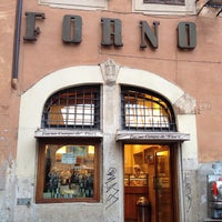 Photo taken at Forno Campo de' Fiori by Paulie G. on 4/8/2013
