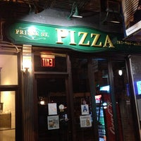 Photo taken at Prince Street Pizza by Paulie G. on 6/27/2013