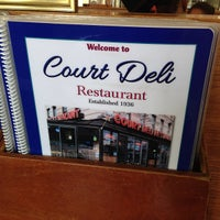 Photo taken at Court Deli by Paulie G. on 7/13/2013