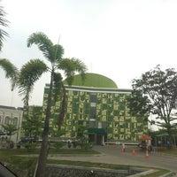 Photo taken at Masjid Raya Asmaul Husna by A H. on 11/5/2014