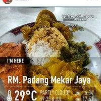 Photo taken at RM. Padang Mekar Jaya by A H. on 8/12/2014