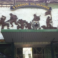 Photo taken at Stadion Siliwangi by A H. on 11/15/2015