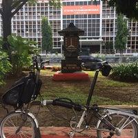 Photo taken at Semarang Nol Kilometer by A H. on 1/1/2018