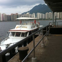 Photo taken at Ma Liu Shui Ferry Pier by A H. on 8/11/2015